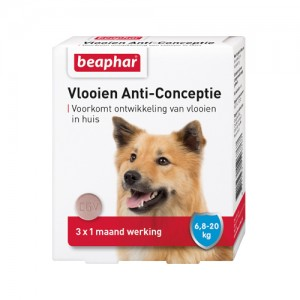 Beaphar Vlooien Anti-Conceptie Hond 6,7 - 20 kg