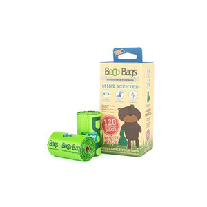 Beco Bags Mint - Multi Pack - 120 poepzakjes (8 x 15)