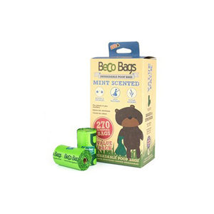 Beco Bags Mint - Value Pack - 270 poepzakjes (18 x 15)