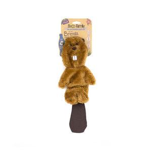 Beco Stuffing Free Toy - Brenda the Beaver - Medium
