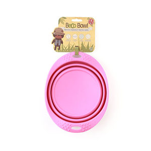 Beco Travel Bowl - Roze - Small