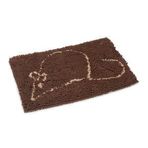 Beeztees Dirty Cat Droogloopmat - Bruin