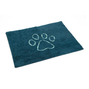 Dog Gone Smart Dirty Dog Droogloopmat – Blauw