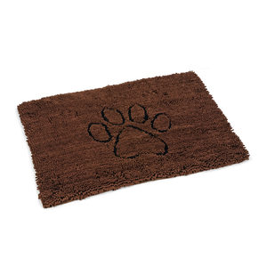 Dog Gone Smart Dirty Dog Droogloopmat - Bruin