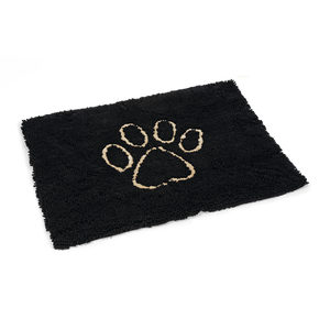 Beeztees Dirty Dog Droogloopmat - Zwart