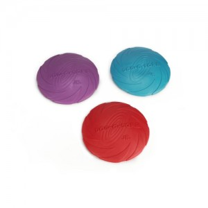 Beeztees Dog O Soar Frisbee Rubber - 18 cm