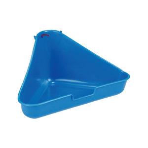 Beeztees Hoektoilet voor Kleindieren - Blauw
