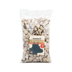 Beeztees Mini Mergkoekjes Rund - 1400 gram