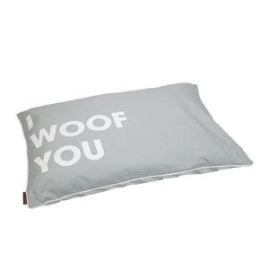 Beeztees I Woof You Loungekussen – 100 x 70 cm