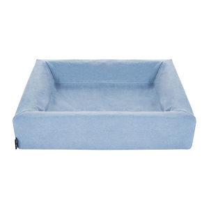 Bia Katoenen Hoes – Blauw – 45 x 45 cm
