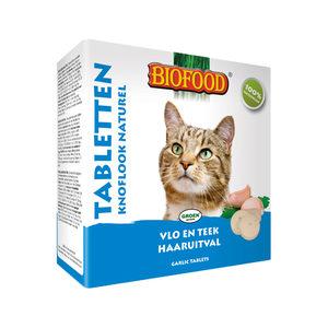 Biofood Kat Knoflooktabletten - Naturel