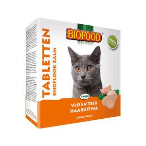 Biofood Knoblauchtabletten für Katzen - Lachs