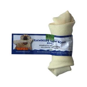 Biofood Kauwkluif Rawhide Dental - Knoop - Small