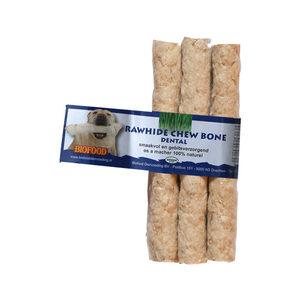 Biofood Kauwkluif Rawhide Dental - Sticks - 3 stuks