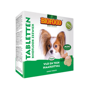 Biofood Knoflooktabletten - Zeewier - 100 stuks - Mini