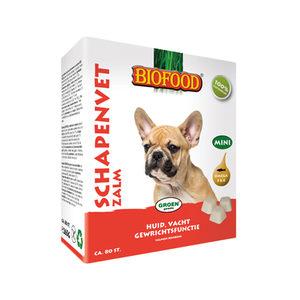 Biofood Schapenvet Zalm – 80 stuks – MINI