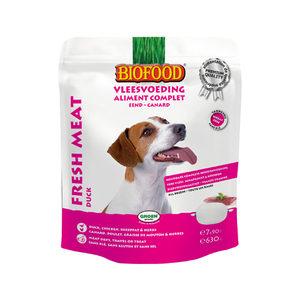 Biofood Vleesvoeding - Doypack - Eend
