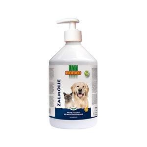 Biofood Zalmolie met doseerpomp – 500 ml