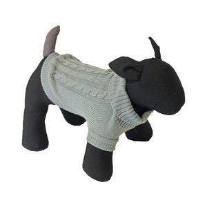 Honden - Kabel Trui Grijs