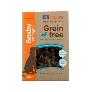 Boxby Grain Free Treats – Eend – 100 gram