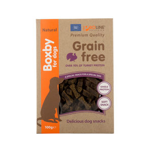 Boxby Grain Free Treats – Kalkoen – 100 gram