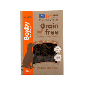 Boxby Grain Free Treats - Lam - 100 gram
