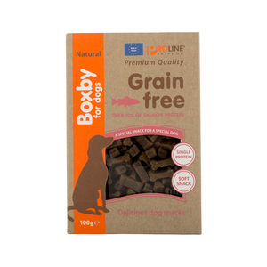 Boxby Grain Free Treats - Zalm - 100 gram