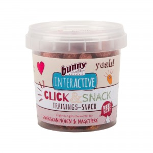 Bunny Nature Interactive Crispy Snacks - Beetroot