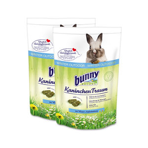 Bunny Nature Rabbit Dream Winter Outdoor - 2x 750 gram