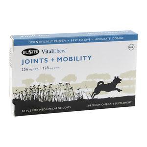 Buster VitalChew Joints & Mobility – M/L – 30 stuks