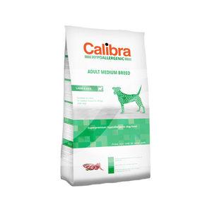 Calibra Dog Hypoallergenic Adult - Medium Breed - Lam & Rijst - 14 kg