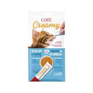Catit Creamy Sint-jacobsschelp - 5 x 15 g