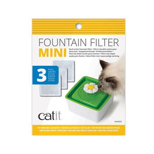Catit Senses 2.0 Flower Fountain Mini - 3 Filters