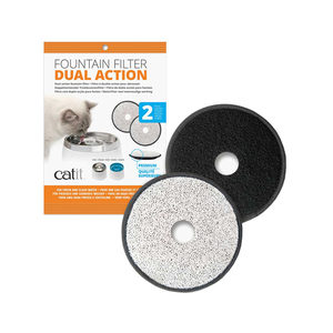 Catit Stainless Steel Drinkfontein - 2 extra filters