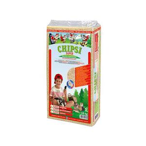 Chipsi Houtvezel Super Granulaat - 15 kg