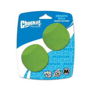 Chuckit! Erratic Ball - M - 2 Ballen
