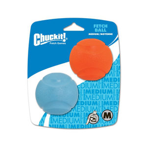 Chuckit! Fetch Ball - Medium - ø 6 cm - 2 stuks