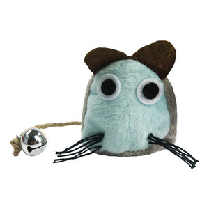 Crazy Cat Funny Mouse met Catnip - Lichtblauw