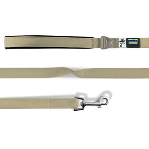 Curli Basic Leash - Medium - Beige