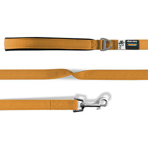 Curli Basic Leash - Medium - Oranje