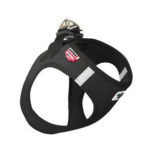 Curli Vest Harness Cord - Zwart - XXS