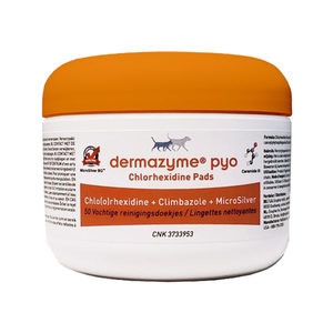 Dermazyme Pyo Chloorhexidine - Pads - 50 stuks