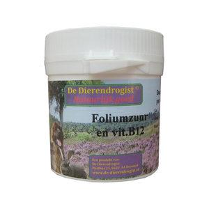 Dierdrogist Foliumzuur Vitamine B12 - 100 tabletten
