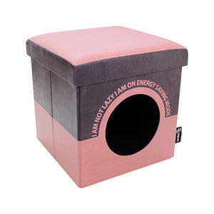District 70 Box Lazy - Roze kopen