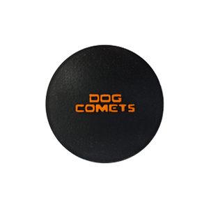 Dog Comets Ball Stardust Zwart   Oranje