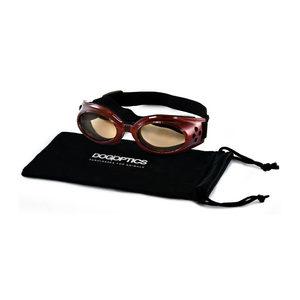 Dogoptics Hondenzonnebril Ibiza - Brown Frame & Brown Lens - S