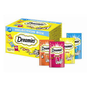 Dreamies Cat Selection Box - 4 x 30 gram