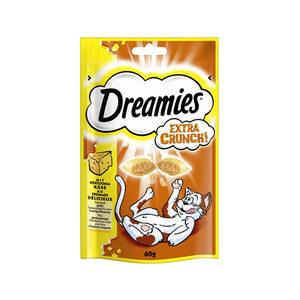 Dreamies Cat Snacks Extra Crunch - Kaas - 60 gram