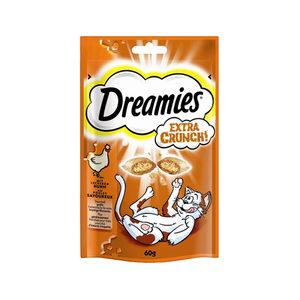 Dreamies Cat Snacks Extra Crunch - Kip - 60 gram