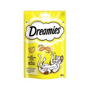 Dreamies Kattensnoepjes - Kaas - 60 gram